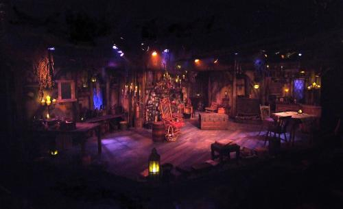 'Broomstick' set design by Andrew Hammer (photo by Ed Krieger)