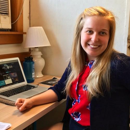 Annie Barker at FT desk 6.5.17