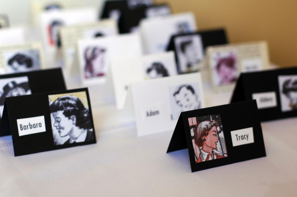 DIY Wedding Place Cards: Easy Peezy Wedding Name Cards