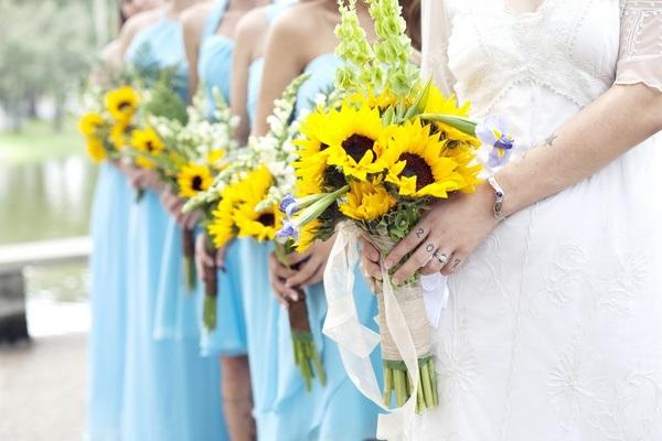 Summer Sunflower Wedding