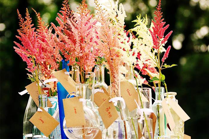 Unique Wedding Ceremony Ideas: DIY Astilbe Bouquet