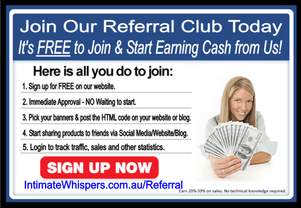 Intimate Whispers REFERRAL CLUB