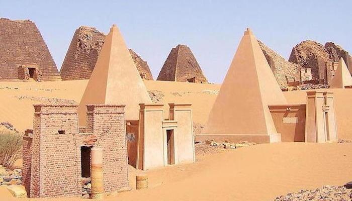 The Pyramids and the Ruins of Nubia