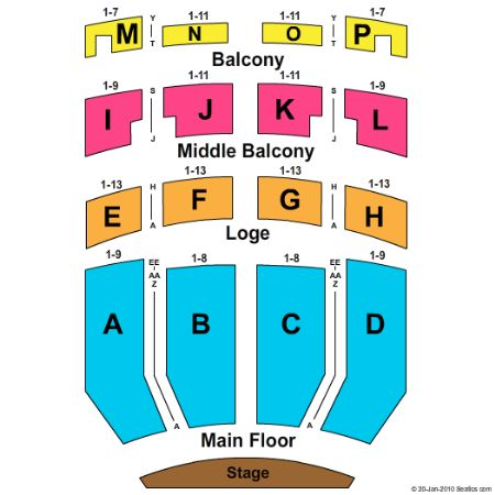 Embassy Theatre Tickets and Embassy Theatre Seating Chart - Buy Embassy Theatre Fort Wayne ...