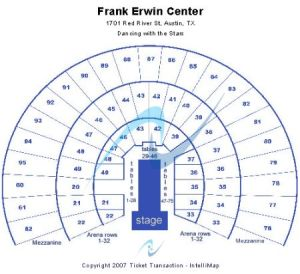 Frank Erwin Center Tickets and Frank Erwin Center Seating Chart  Buy Frank Erwin Center Austin