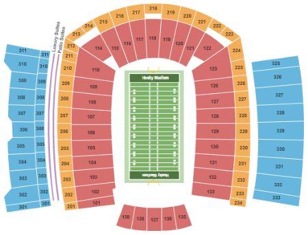 Husky Stadium Tickets And Husky Stadium Seating Chart