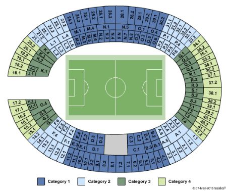 Olympiastadion Berlin Tickets and Olympiastadion Berlin Seating Chart - Buy Olympiastadion ...