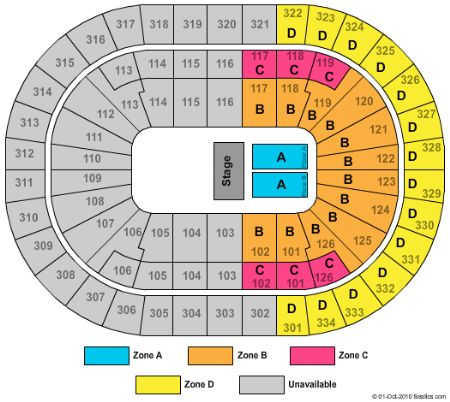 Scottrade Center Seating Chart With Rows Park Dental St Paul