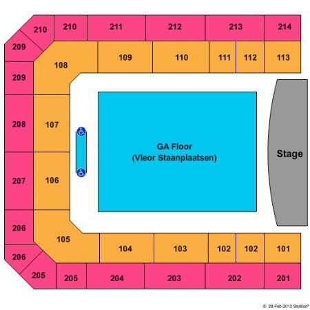 Ziggo Dome Tickets and Ziggo Dome Seating Chart - Buy Ziggo Dome Amsterdam Tickets NH at Stub.com!
