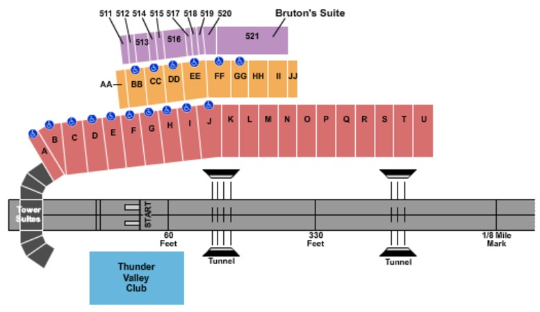 Bristol Dragway Tickets in Bristol Tennessee, Bristol Dragway Seating Charts, Events and Schedule