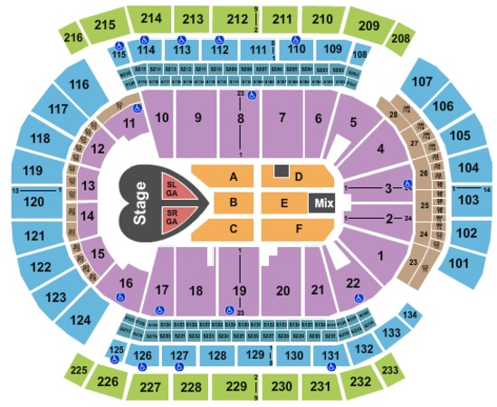 Prudential Center Tickets In Newark New Jersey, Prudential