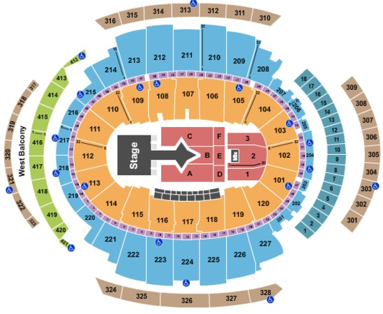 Msg seating chart phish - Phish madison square garden tickets ...