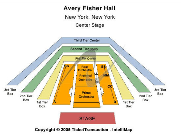 Avery Fisher Hall Tickets