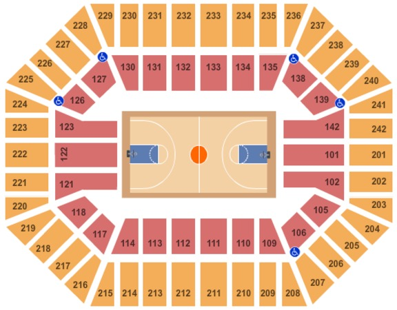Hilton Coliseum Tickets in Ames Iowa, Hilton Coliseum Seating Charts, Events and Schedule