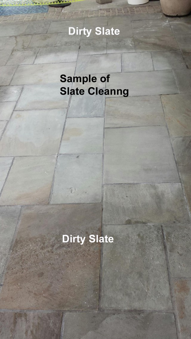How To Clean Textured Stones and Tiles - Written in Stone