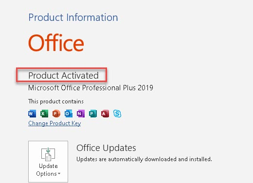 How to Check if Office 2019 is Activated or Not?