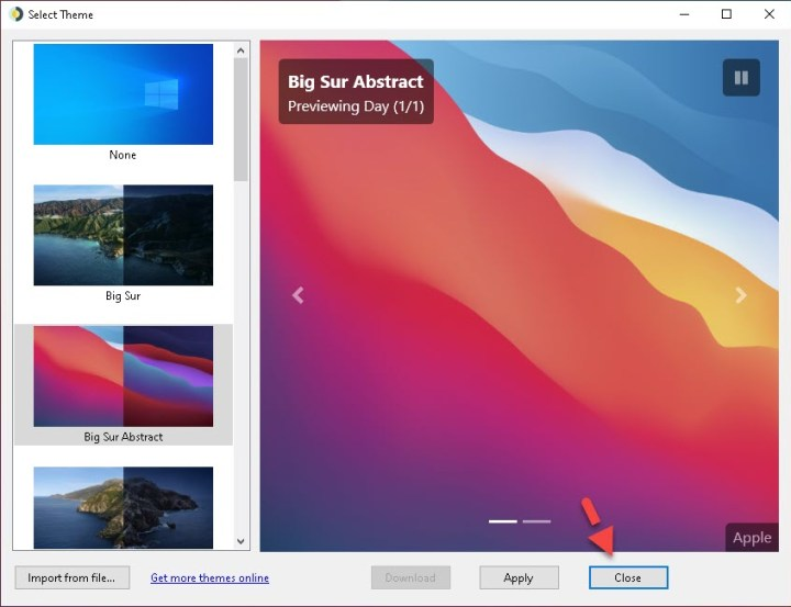 How to Set macOS-style Dynamic Wallpaper in Windows 10 in 2021