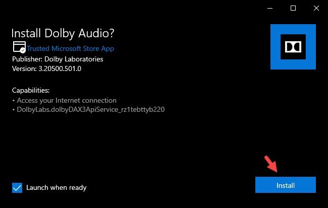 How to Install Dolby Audio in Windows 10 for Free in 2021 [Dolby Atmos]
