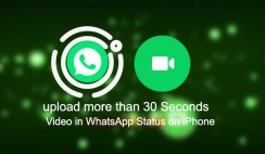 How to Upload More than 30 Seconds Video in WhatsApp Status [iPhone]