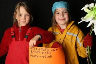 Waldkindergarten-Mädels