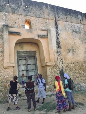 Portugiesisches Fort (Eingang)