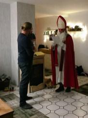Der Nikolaus kam zu Besuch!