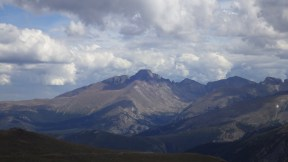 Long's peak. Rocky Mountains National Park.