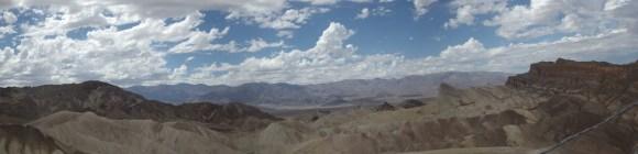 Zabriskie Point in Death Valley Nevada.