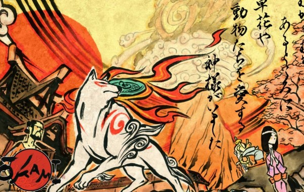Okami HD Released on Switch 1