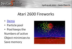 Atari 2600 Fireworks