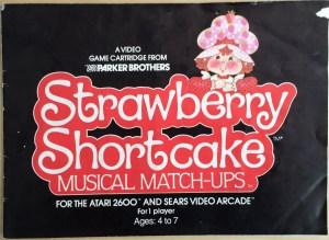 Strawberry Shortcake VCS Instructions Front