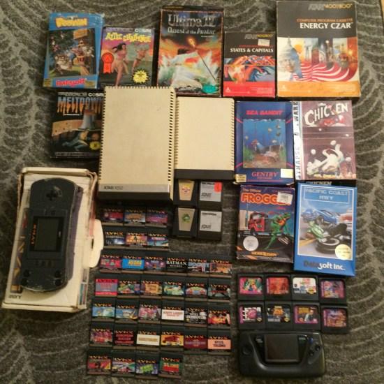 Atari 8bit, Game Gear Lynx
