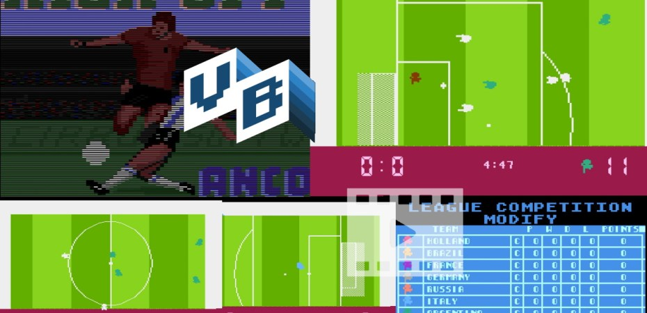 Atari 8bit Anco Kickoff
