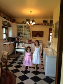 Girls in the kitchen