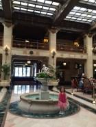Fancy hotel down town!