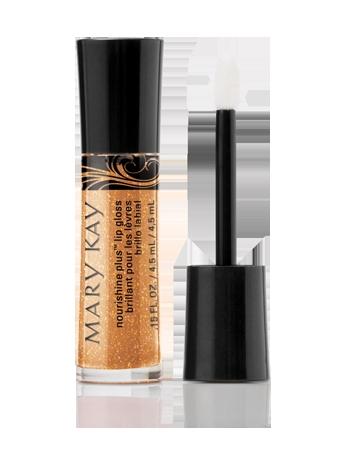 NouriShine Plus Lip Gloss Beach Bronze Mary Kay