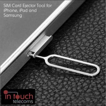 3x SIM Card Ejector Removal Tool for Apple iPhone, iPad, Samsung Galaxy, HTC