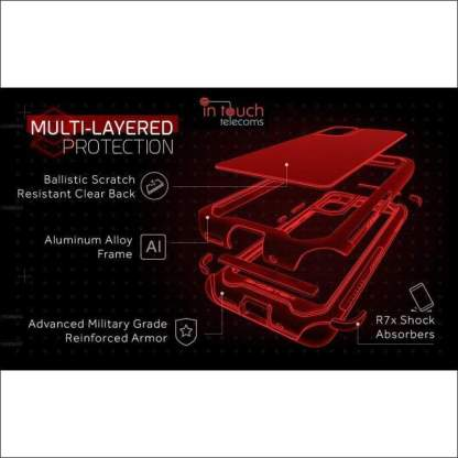 Ghostek Atomic Slim 3 Case for Samsung Galaxy S20 | Military Drop Tested