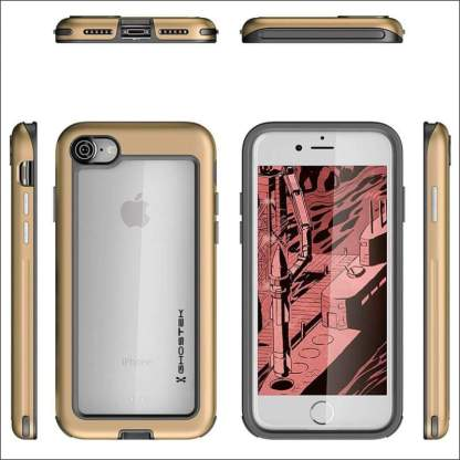 Ghostek Atomic Slim Case for iPhone 8/7/6S Plus | Military Drop Tested Case