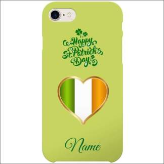 iPhone 8 Case | St Patricks Day Optional Personalised
