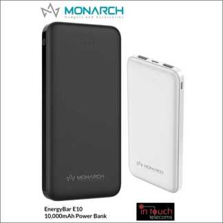 Monarch EnergyBar E10 Power Bank 10000mAh Capacity | Fast Charge