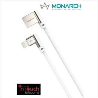 Monarch Gadgets W-Series | Lightning USB Cable - White