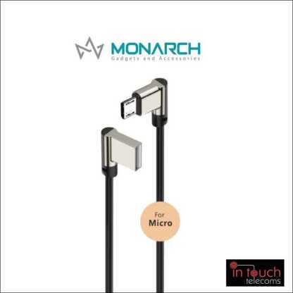 Monarch Gadgets W-Series | Micro USB Cable - White