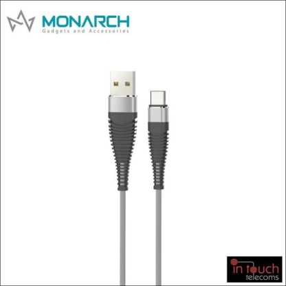 Monarch Gadgets Y-Series | Type-C USB Cable - Black