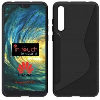 Xquisite Huawei P20 Pro S-Wave Gel Case - Black