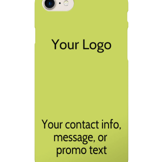 iPhone 8/7 Case - Your Logo with Optional Message