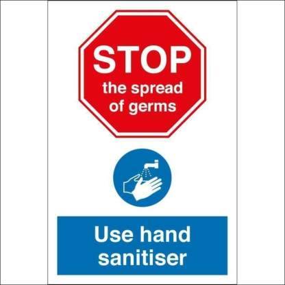 50ml 80% Alcohol Hand Sanitiser | Meets the WHO Standards for Covid-19