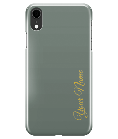 Personalised Gold Font Case | iPhone 8/7, 8/7+, XR, XS/X, S9 Case