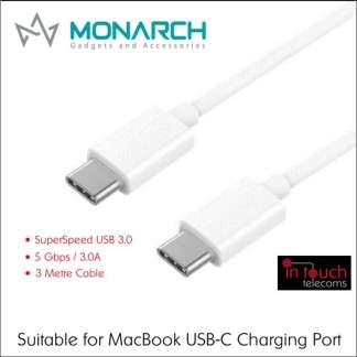 Monarch USB 3.0 Type-C to Type-C 1.5m Cable | Suitable for Charging MacBook