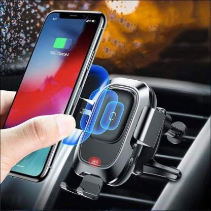 Qi Fast Wireless Car Charger | Intelligent Infrared Sensor